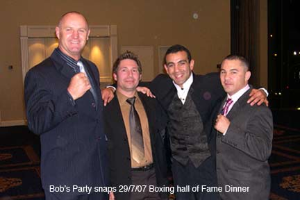 boxing hall of fame dinner 2006